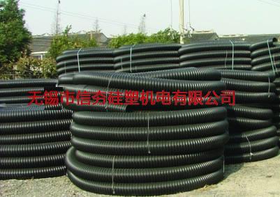 PE波纹电缆保护管(碳素管)-1