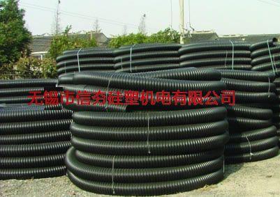 PE波纹电缆保护管(碳素管)