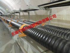 {隧道}220kV市南(过江)隧道改造用复合材料电缆支架、夹具使用实例