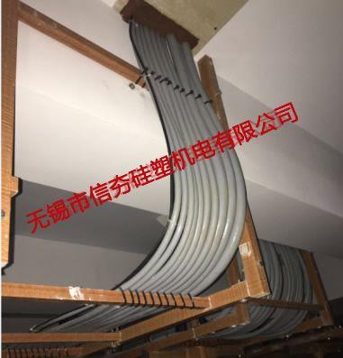 {室内}郁桥变工程用复合材料电缆支架使用实例