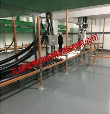 {室内}襄阳王河变电站工程用复合材料电缆支架使用实例