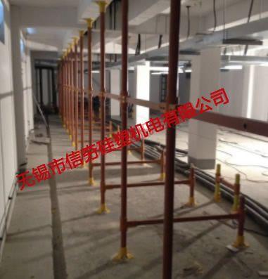 {室内}上海绿地时代名邸工程用复合材料电缆支架使用实例