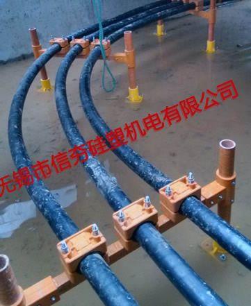 {电缆沟}110kV常州银水线复合材料电缆支架使用实例