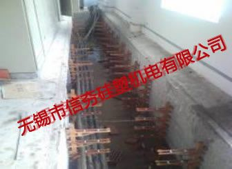 {室内}大场变220kV电缆工井支架安装图