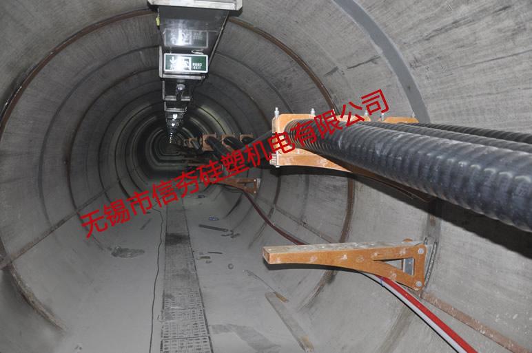 红旗变复合材料电缆支架使用实例-1