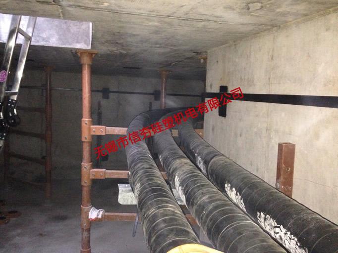 110kV叶塘线复合材料电缆支架使用实例-1