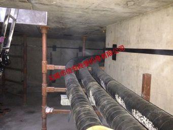 {电缆沟}110kV叶塘线复合材料电缆支架使用实例