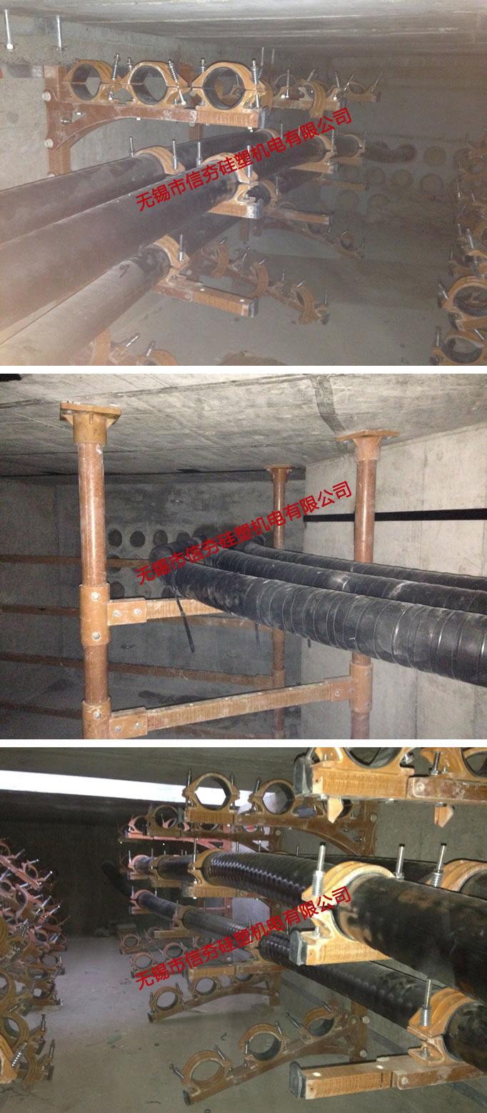 110kV叶塘线复合材料电缆支架使用实例-2