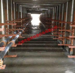 {电缆沟}110kV昆山标点工程复合材料电缆支架使用实例