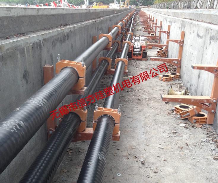 220kV杭大线复合材料电缆支架使用实例-1