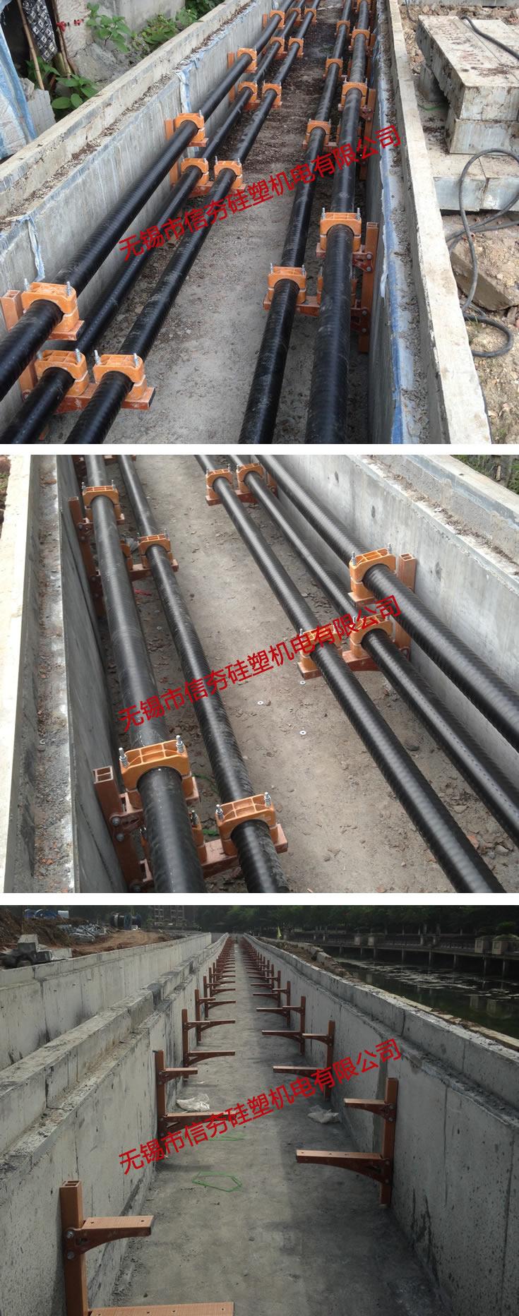220kV杭大线复合材料电缆支架使用实例-2
