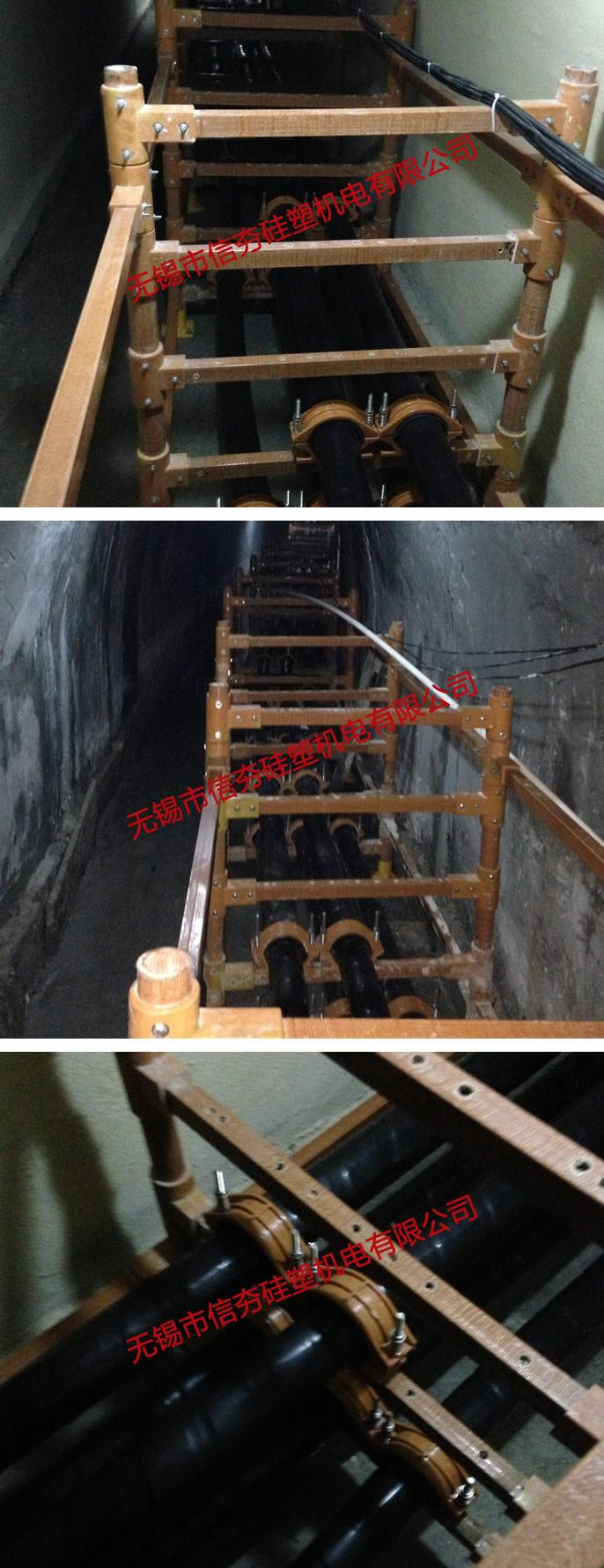220kV三凤变复合材料电缆支架使用实例-2